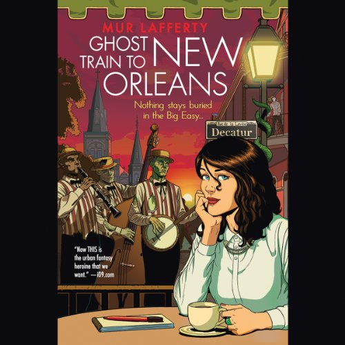 Ghost Train to New Orleans audiobook cover art