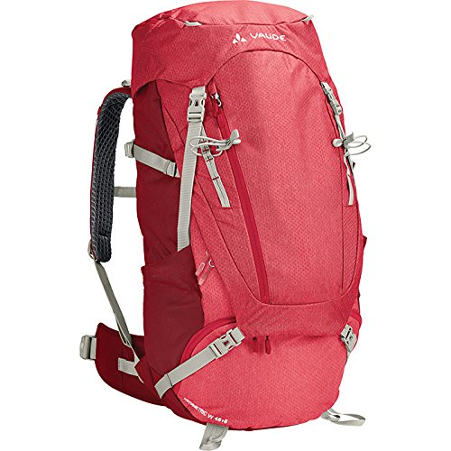 VAUDE Damen Women's Asymmetric 48+8 Rucksaecke, Indian red, one Size
