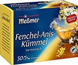 Meßmer Fenchel-Anis-Kümmel   50 Teebeutel   Vegan  ...