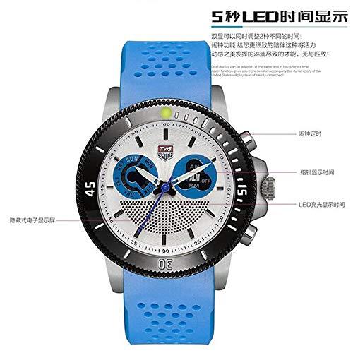 HWCOO TVG elektronische Uhr Sport LED Uhr 469 (Farbe : 1)