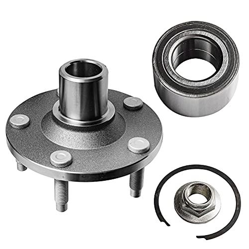 Detroit Axle - Front Wheel Bearing Hub Assembly Replacement for Ford Escape Mazda Tribute Mercury Mariner