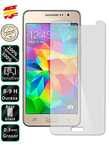 Movilrey Protector para Samsung Galaxy Grand Prime G530 Cristal Templado de Pantalla Vidrio 9H para movil
