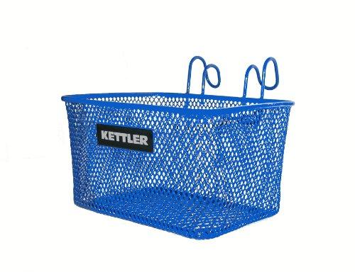 Kettler Trike Lenker Zubehör: vorne montierter Metallkorb (passend Dreiräder), blau