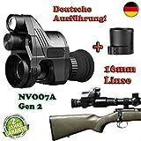 Maximtac Nachtsichtgerät Pard NV007A Gen2 German-Edition BRD mit 16mm Linse + 2 Akku + BKA-Bescheid + Ladegerät
