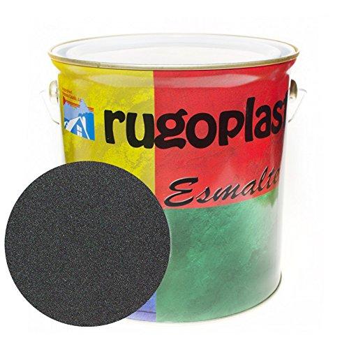 Pintura esmalte sintético de alta calidad ideal para pintar hierros, rejas, portones, puertas, ventanas, madera... Brillante / Satinado / Mate / Forja / Aluminio Plata / Metalizado Varios Colores (4L, Óxido Negro Forja) Envío GRATIS 24 h.