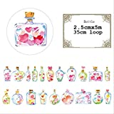 10 Unids/lote Cinta adhesiva decorativa de papel de bricolaje Cinta adhesiva de dibujos animados/Cinta adhesiva adhesiva 2.5cmx5m color de la foto