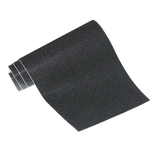 (22€/m²) Antirutsch Strukturband 110 x 25cm Antirutschbelag Antirutschband schwarz Klebeband Safety Tape Griptape NEU Old-Harvest