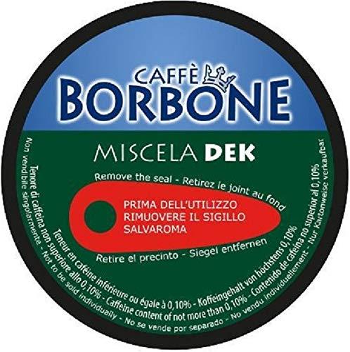 90 Capsule Caffè Borbone Miscela VERDE DECAFFEINATO Compatibili Nescafè Dolce Gusto