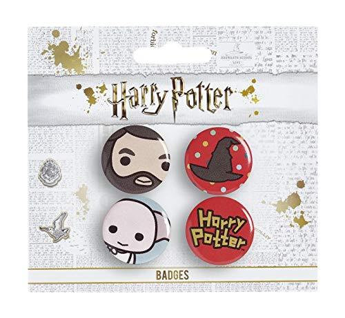 Set 4 spille Harry Potter, assortite