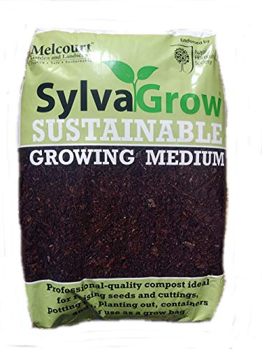 Melcourt 50 litre bag of the multi-award winning Sylvagrow sustainable peat-free compost, endorsed by the RHS - ideal for any use around a garden and planting