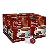 Café Escapes Café Mocha Coffee Beverage, Single-Serve Keurig K-Cup Pods, 96 Count