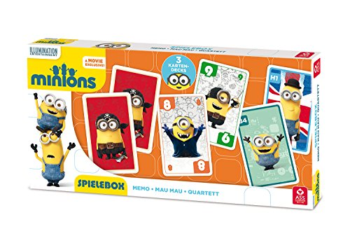 ASS Altenburger 22578001 - Minions - 3 in 1 Spielebox