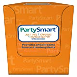 PartySmart Provides Axtioxidants for a Fun Night Out and a Better Tomorrow 250 mg, 10 Capsules