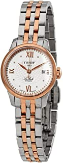 Tissot Le Locle Silver Diamond Dial Automatic Two Tone Ladies Watch T41.2.183.16