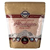 SaltWorks Ancient Ocean Himalayan Pink Salt, Fine Grain, 5 Pound Bulk Bag