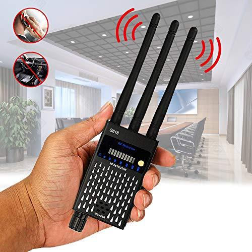 TBDLG Anti Spy Detektor, Detektor Rf, Versteckte Kamera Detektor, FüR Badezimmer, Hotels, Unterhaltung Und Umkleidekabinen