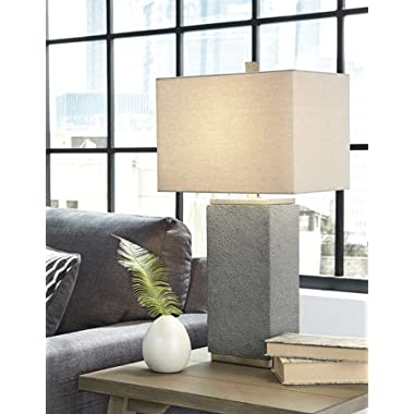 Amergin Poly Table Lamp Set Of 2/Grain/Contemporary