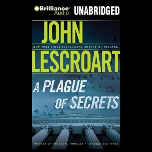 A Plague of Secrets audiobook cover art