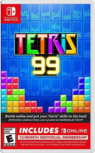 Tetris 99 + 12 Month Nintendo Switch Online Individual Membership - Nintendo Switch