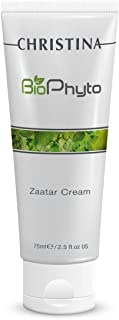 Bio Phyto Zaatar Face Cream – Anti-Aging Lotion to Fight Sensitivity and Redness, All Skin Types, 2.5 fl oz.
