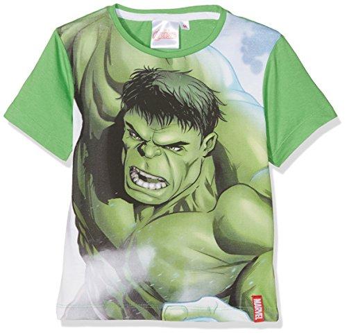 Marvel Avengers C Camiseta, Verde, 9-10...