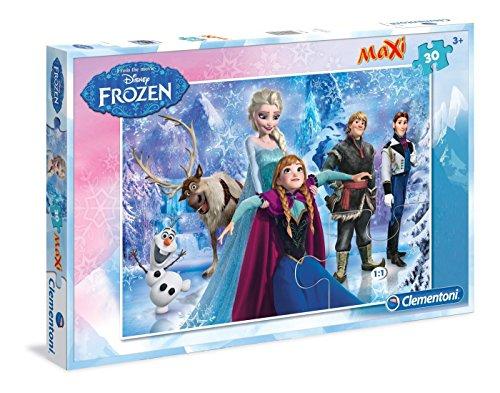 Disney Frozen máxima de Puzzle de Clementoni, 30Piezas, 62x 42cm