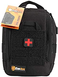 Medical and EDC IFAK Molle Pouch for Blowout Kit, EMT, Medical Supply, Everyday Carry, Emergency, Tactical Gear, Gunshot Trauma, Utility Pouch with Molle Webbing and D-Ring Attachments