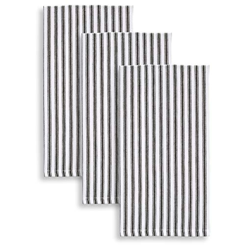 Top 10 Best Selling List for black and white striped kitchen towels