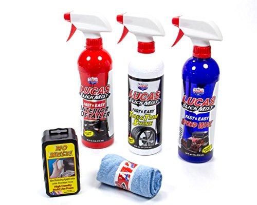 Lucas Oil Products LUC10558 Slick Mist Detailing Kit, 4 Quart, 1 Pack