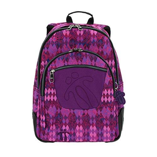 Totto MA04ECO002-1710N-6M2 Crayola Mochila tipo casual, 44 cm, 20 litros, Multicolor