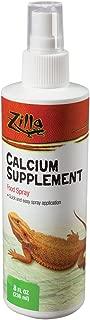 Zilla Calcium Supplement Reptile Food Spray