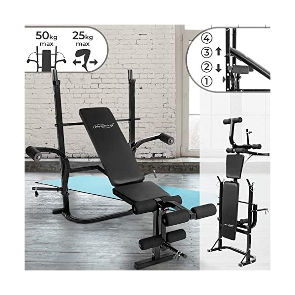 Banc-de-Musculation-Multifonction-Pliable-Inclinable-Dossier-Rglable-Butterfly-Fixation-pour-Jambes-Support-pour-Haltres-Charge-Max-255-kg-Station-Banc-dHaltrophilie-Complet-Fitness