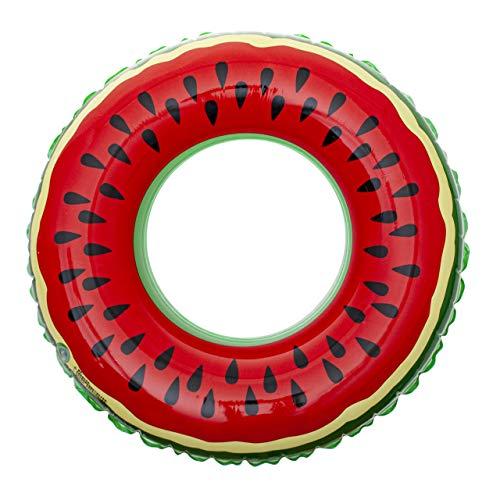ISO TRADE Wassermelone Schwimmring Wasserspielzeug 70 cm Schwimmreifen 10260