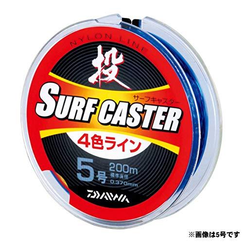 ダイワ(DAIWA) ナイロンライン サーフキャスター4色ライン(R) 2号 200m 4色(カラーマーキング付)