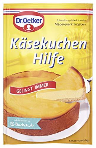 Dr. Oetker Käsekuchen Hilfe, 58 g