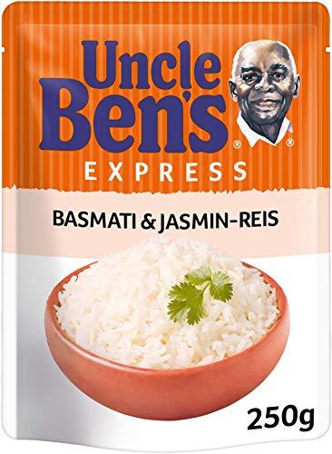 Uncle Ben's Express-Reis Basmati und Jasmin Reis, (1 x 250g)