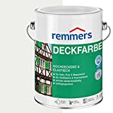 Remmers Deckfarbe - weiß 2,5L