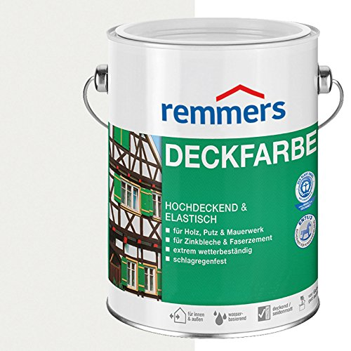 Remmers Deckfarbe - weiß 5L