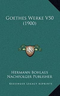 Goethes Werke V50 (1900)