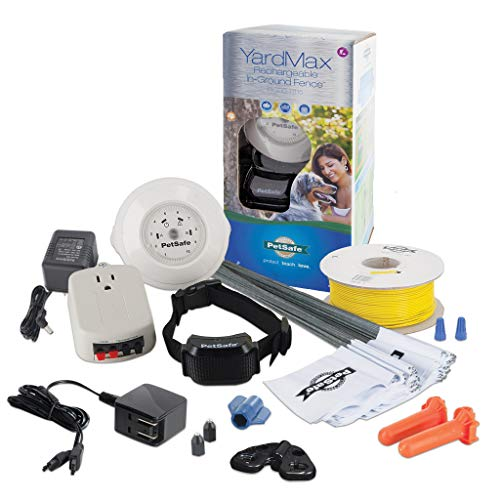 PetSafe YardMax Rechargeable In-Ground Dog and Cat...