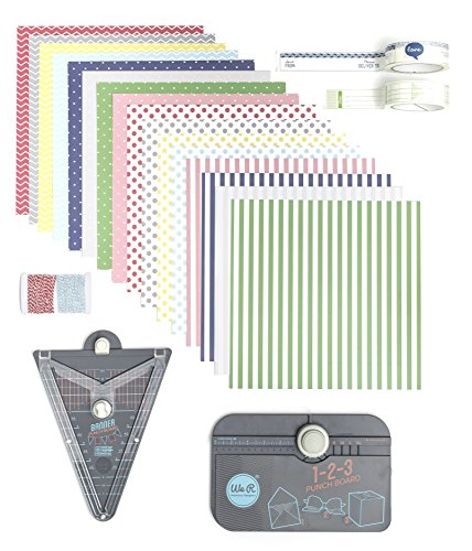 We R Memory Keepers 411013punchboard Unidades, Multicolor