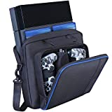 Estuche de Transporte para PS4 Consola/Controlador/Accesorios, Bandolera de Viaje para Hom...
