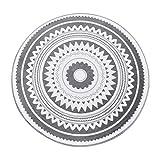 Étude Table Chaise Tapis de Sol Moquette Chambre Moquette Chambre Coussin Famille Tapis (Couleur: Gris foncé, Taille: diamètre = 120 cm),60 * 60cm