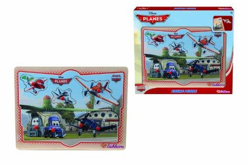 Eichhorn - 100003251 - Puzzle à buttons - Disney - Planes en Bois - 8 pièces