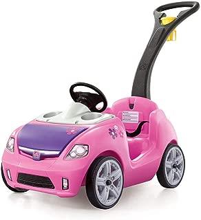 Step2 Whisper Ride II Ride On Push Car, Pink (Renewed)