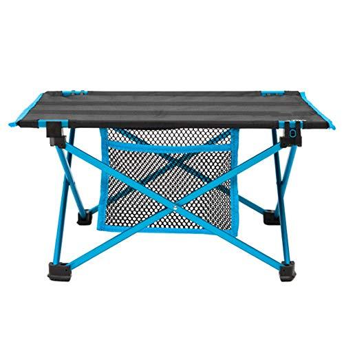 WDZY lichtgewicht kleine opvouwbare campingtafel, draagbare compacte opklapbare campingtafel met draagtas voor buiten kamperen wandelen picknick strand