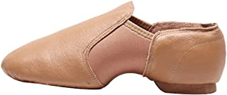 Inlefen Adult-Unisex Ankle-Wrap Split Sole Jazz Modern Dance Low-Top Shoes