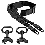 """Retail Sign Systems 2 Point Rifle Sling Quick Adjust with 2 PCS QD Sling Swivels Mount 