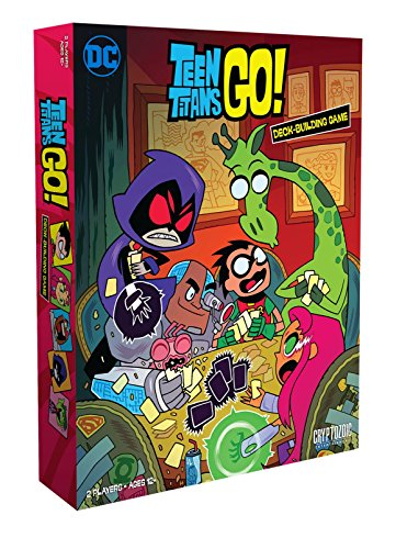 Cryptozoic Entertainment Teen Titans Go DBG Board Game