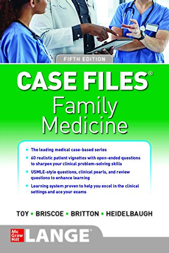 Case Files Family Medicine 5th edition
